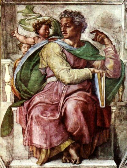 Jesaja (volgens Michelangelo)