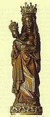Beeld van de Moeder Gods Kapel in het Zand te Roermond