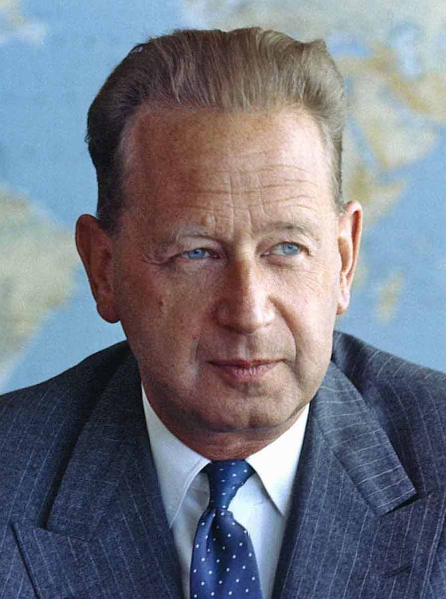Dag Hammarskjöld, auteur van Merkstenen